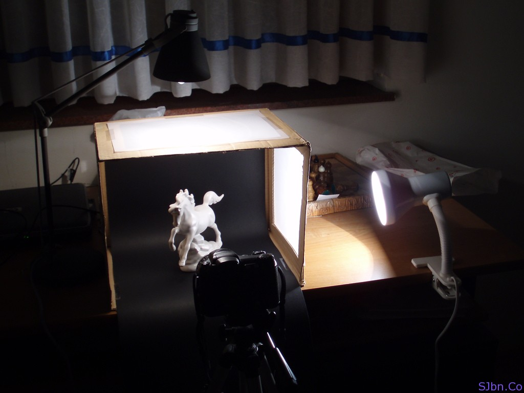 my light box setup