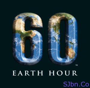 60 Earth Hour Logo