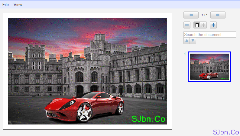 View PSD file in Google Docs