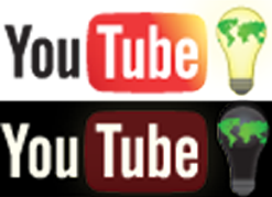 YouTube Earth Hour Logo