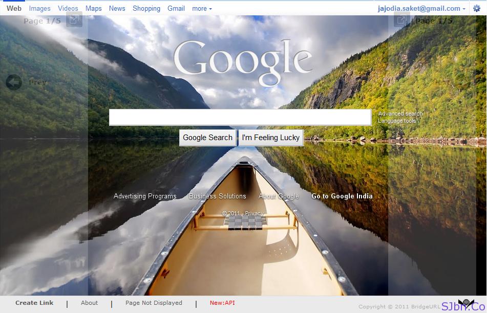 BridgeURL.com - Google