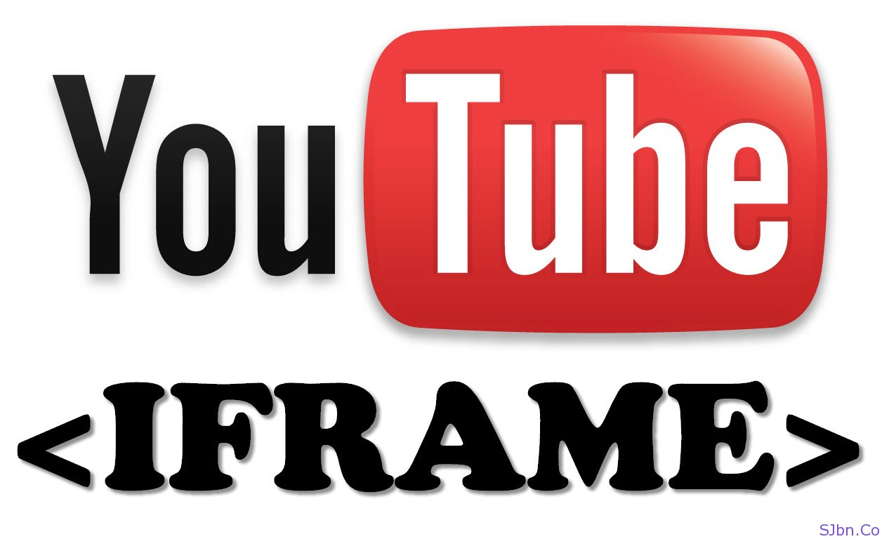 YouTube IFRAME tag