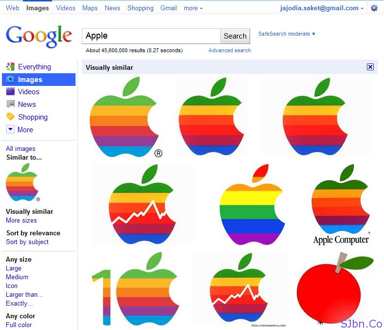 Google Image Search - Apple Similar Logo