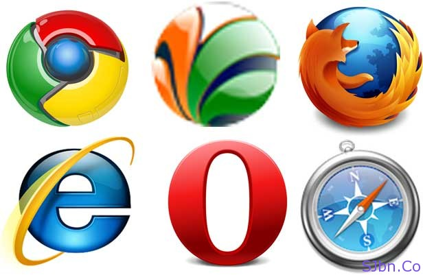 Six Major Browsers
