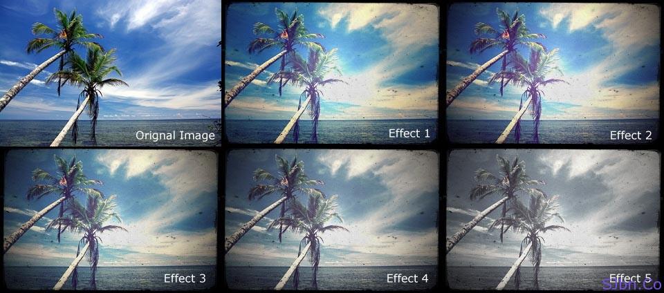 VintageJS Old Image Effects