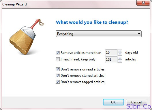 Cleanup Wizard - What your you like to cleanup