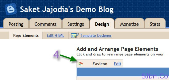 Design -- Page Elements -- Favicon