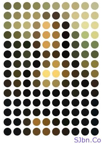Leonardo da Vinci's The Mona Lisa in 140 circles of colour