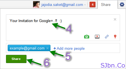 Your Invitation for Google+