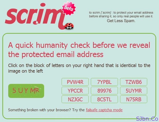 scr.im Captcha Verification