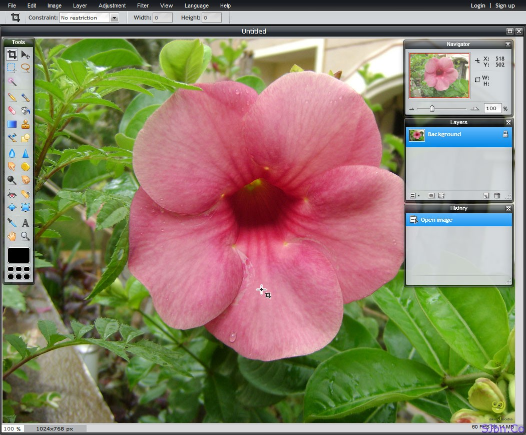 Pixlr An Online Photo Editor Like Adobe Photoshop