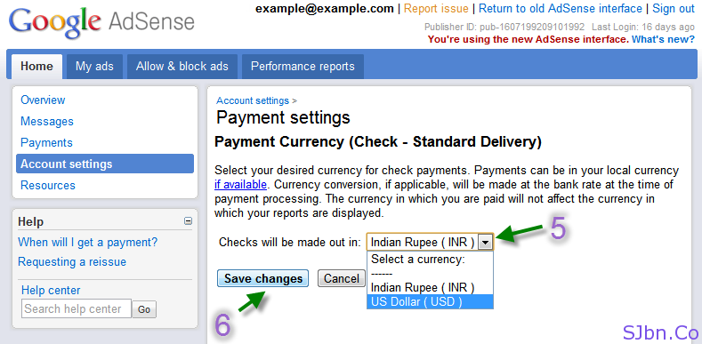 How Google AdSense Publisher From India Can Get Cheque In USD