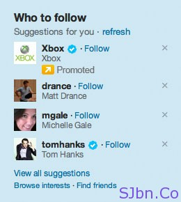 Twitter Promoted Account