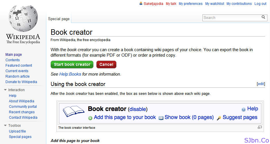 how to create your own wiki page