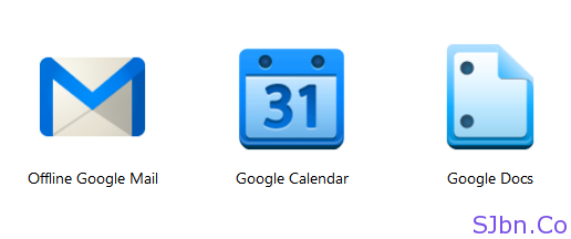 Offline Google Mail, Calendar and Docs