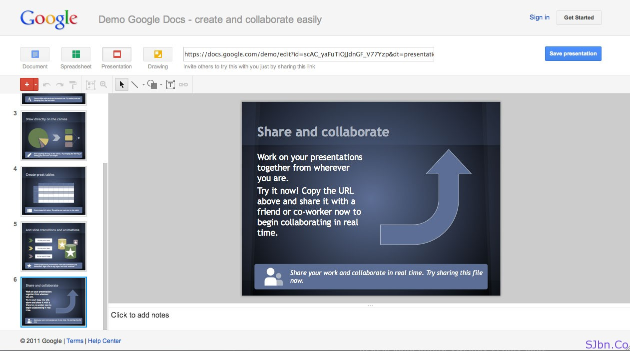 Demo Google Docs - create and collaborate easily