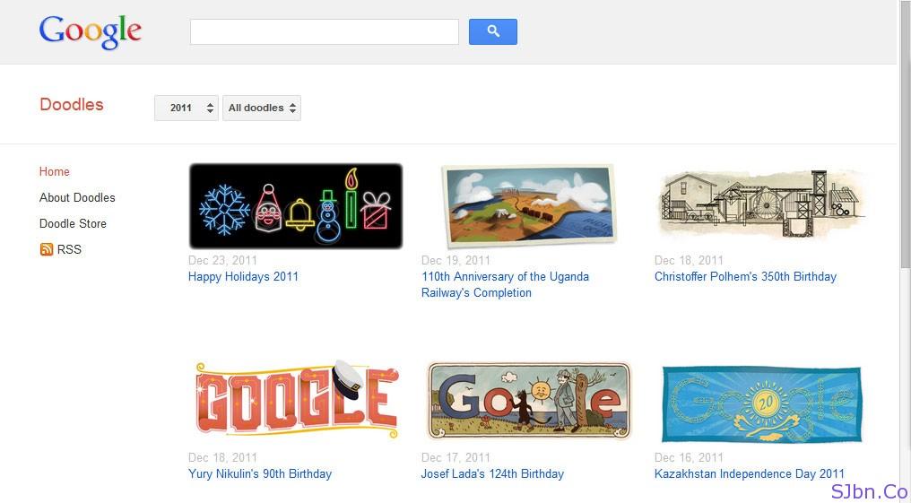 Google Doodles (Logos)