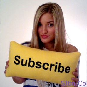 YouTube Subscribe Pillow