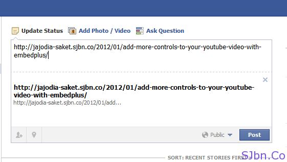 Facebook Link Share Problem