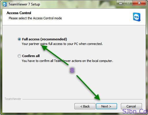 TeamViewer - Full access