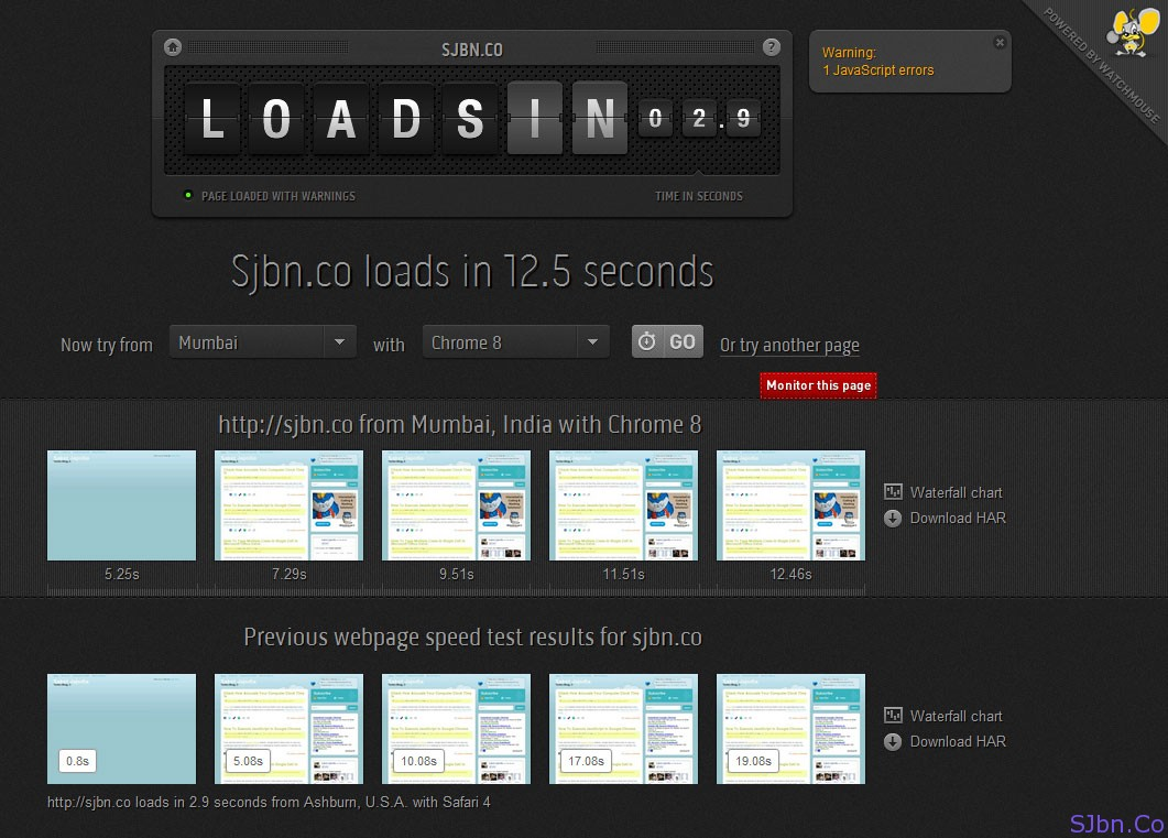 Test Your Website In Different Location And In Different Web Browser Using Loads.In