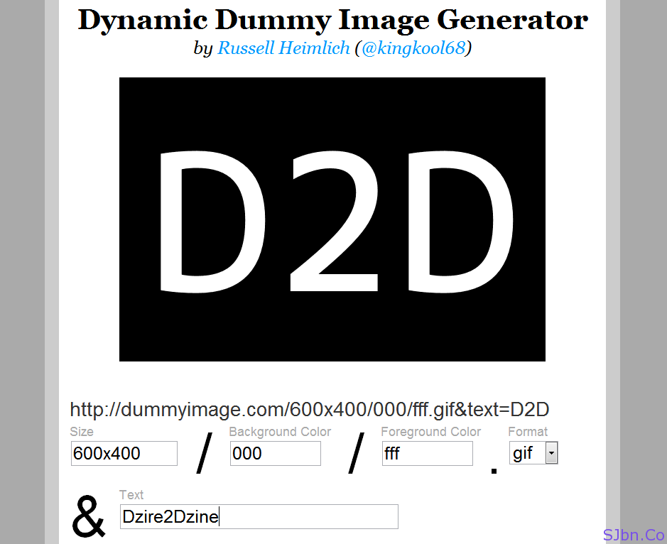 How To Show Dummy Images To Use As Placeholder In Designs | Saket ...
